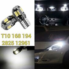 T10 194 168 2825 w5w LED White LED Bulb License Plate Lamp Canbus B1 For BMW U