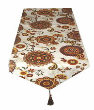Traditional Red & Cream , 2 Meter Table runner By Temptations of Stoke on Trent