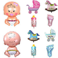 5pc Boy Girl Baby Shower Foil Helium Balloon Christening Birthday Party Supplies