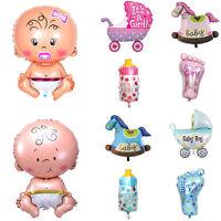 5Pcs/set Boy Girl Baby Shower Foil Giant Christening Balloons Birthday Decor