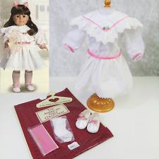 American Girl Pleasant Company SAMANTHA TEA PARTY DRESS Outfit Shoes Socks Bag!