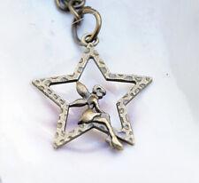 Schlüsselanhänger 7,5 cm lang Fee Elfe Stern Tinkerbell Anhänger Märchen Schutz
