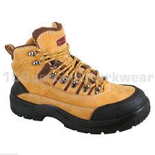 Size UK 6 EUR 39 Blackrock Honey Nubuck Leather Work Safety Boots Steel Toe Cap