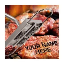 BBQ BRANDING IRON KITCHEN RESTAURANT CHANGEABLE LETTERS FOR GRILLING