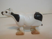 1960s Plastic Ramp Walker Holstein Cow
