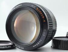RARE ALMOST MINT MINOLTA MC ROKKOR-X 85mm f/1.7 Portrait MF lens From Japan