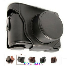 Leather Case Set bag for Fuji Finepix X100 X100S Black