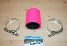 Silikonschlauch 60mm PINK +Schellen *NEU* rosa Verbinder für Ladeluftrohre Turbo