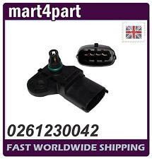 MAP Sensor 0261230042 fits FIAT OPEL VAUXHALL IVECO PORSCHE SAAB New