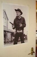 Sid James Carry on Cowboy Door Poster