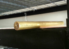 360 BRASS ROD 1-3//8 DIA 8 IN LONG*