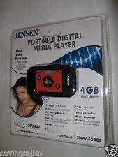 BRAND NEW Sealed Jensen SMPV-4GBEB Digital Media Player