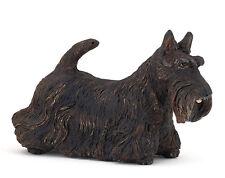 Papo Black Scottish Terrier Dog Toy Figure Animal Figurine Pretend Play 54032