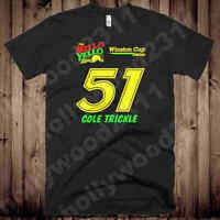 Cole Trickle Mello Yello Days of Thunder #51 shirt NASCAR vintage throwback