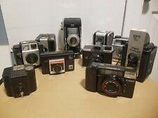 lot of 10 Vintage cameras - full listing below