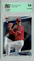 Shohei Ohtani 2018 Topps Finest #FF-70 Finest First Rookie Card PGI 10