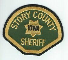 IOWA - Story County Sheriff patch