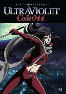Ultraviolet : Code 044: Complet Animé Série (2 Disques 2008 ) Osamu Dezaki