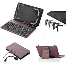 """ANDROID TABLET ADJUSTABLE USB KEY BOARD CASE + STYLUS FOR 7"""" INCH OR SMALLER"""
