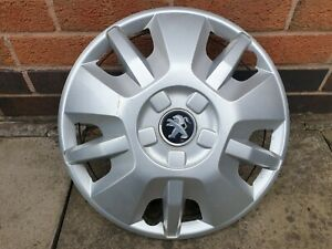 "Single Peugeot Boxer Van 15"" Wheel Trim Hub Cap x1 Genuine Used Part"
