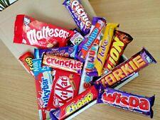 10 Chocolate Bar Selection Box Birthday Christmas Present Kids Gift Idea