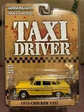 Greenlight Hollywood Taxi Driver 1975 Checker Taxicab