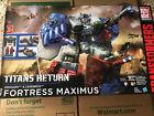 Transformers Titans Return Fortress Maximus 🇺🇸