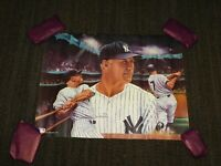 "VINTAGE POSTER 1988 NEW YORK YANKEES BASEBALL MICKEY MANTLE  23 1/2"" X 18"""