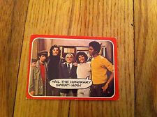 1976 Welcome Back Kotter Trading Card #29 Sweathogs Sweat Hogs Group old TV Show