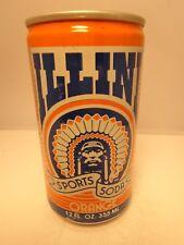 UNIVERSITY ILLINIOS ILLINI 1984 SPORTS SODA POP CAN FOOTBALL BASKETBALL BASEBALL