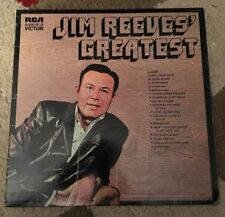 Jim Reeves - Greatest- 12' Vinyl LP Record