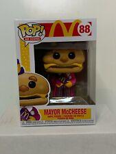 Funko Pop! AD Icons: McDonalds - Mayor McCheese #88 w/ Protector MINT