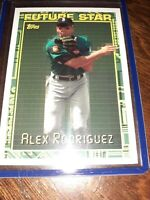2019 TOPPS ARCHIVES 1994 FUTURE STAR #94FS-7 ALEX RODRIGUEZ SEATTLE MARINERS