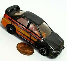 Tomica Tomy 1997 Mitsubishi Lancer Evo IV Black Vintage Car Rare Loose 519Lr-cb9