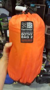 KARRIMOR CAMPING BAG EMERGENCY SURVIVAL SHELTER FOR 2 TENT BOTHY BAG NEW