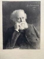 Achille Jacquet gravure eau forte Etching Kan Janssen 1903