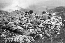 WW2 - Photo - Italie - Combats dans la Vallée du Liri le 4 janvier 1944