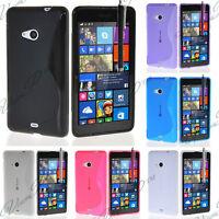 Accessoire Etui Coque Housse TPU Silicone Gel Nokia Lumia 535/ 535 Dual SIM