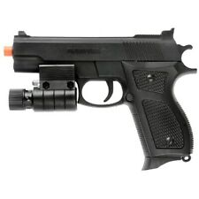 New listing AIRSOFT TACTICAL SPRING PISTOL HAND GUN w/ LASER SIGHT LED FLASHLIGHT 6mm BBs BB