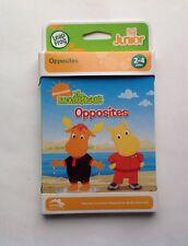 Children's LeapFrog Tag Junior Book The Backyardigans Opposites Age 2-4 yrs New