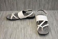 **LifeStride Eclipse Slingback Sandal - Women's Size 8W - White