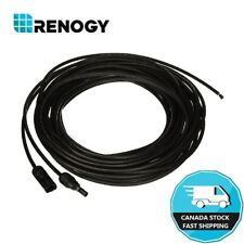 30Ft 12AWG MC4 Adaptor Cables Renogy Solar Panel and Charge Controller Connector