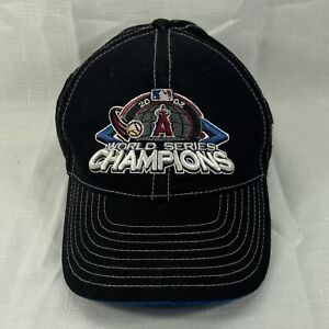 Autographed Mike Scioscia 2002 World Series Champ Hat