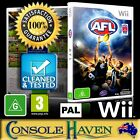 (Wii Game) AFL / Australian Football League (G) (Sports: Aussie Rules Footy) PAL