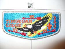 OA 340 Timuquan S12,1980s,BRO,Eagle,SMY Bdr,Flap,West Central Florida Council,FL