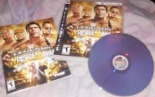 WWE Legends of WrestleMania  Playstation 3 (PS3) Complete w/Guide Book MINT