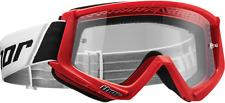 NEW RED THOR COMBAT ADULT MOTOCROSS GOGGLES FREE SHIP SNOW ATV MX BMX UTV