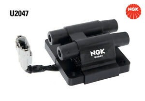 NGK Ignition Coil U2047 fits Subaru Forester 2.0 (SF), 2.0 (SG), 2.0 GT (SF),...