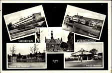 Purmerend Niederlande Holland ~1960 Plantsoen, NACO Bus-Station, Rusthoeve uvm.