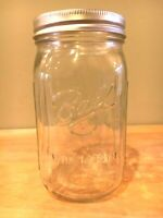 Lot 12 Vintage Case BALL Mason Jars WIDE MOUTH Quart Box Canning